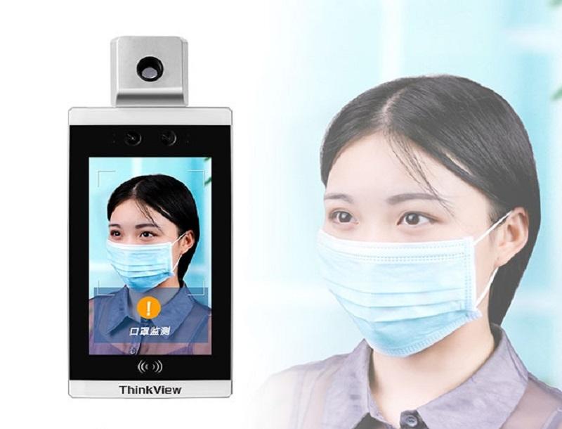 顔認識温度測定出席アクセス制御、企業(草の根)の流行の防止と制御を支援